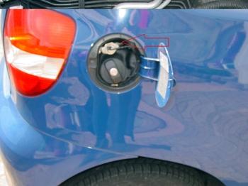 VW-Fox-Gasanlage-Gaseinfüllstutzen